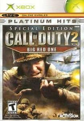 Call of Duty 2: Big Red One [Platinum Hits] Cover Art