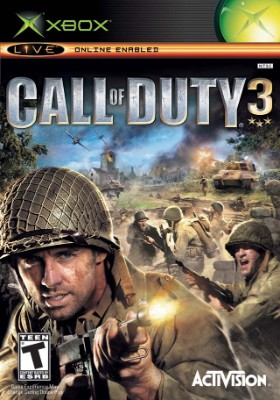 Call of Duty 3 Cover Art