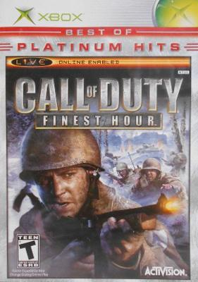 Call of Duty: Finest Hour [Platinum Hits] Cover Art