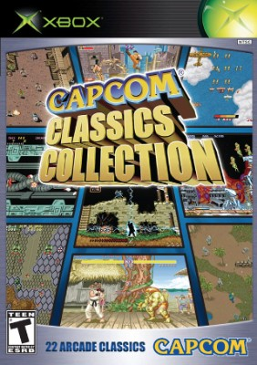 Capcom Classics Collection Cover Art