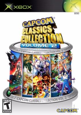 Capcom Classics Collection Vol. 2 Cover Art