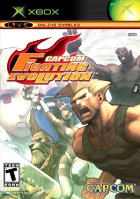 Capcom Fighting Evolution Cover Art