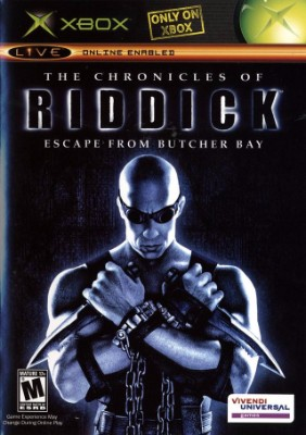 Chronicles of Riddick: Escape From Butcher Bay Cover Art