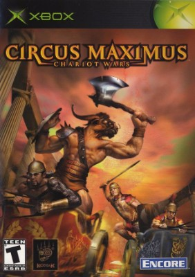 Circus Maximus: Chariot Wars Cover Art