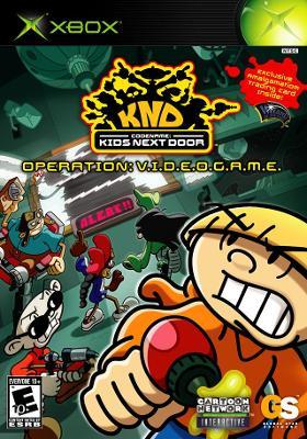 Codename: Kids Next Door: Operation V.I.D.E.O.G.A.M.E. Cover Art
