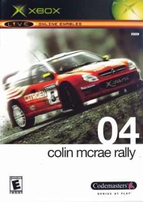 Colin McRae: Rally 04 Cover Art