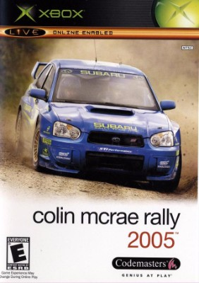 Colin McRae Rally 2005 Cover Art
