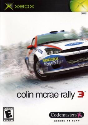 Colin McRae: Rally 3 Cover Art