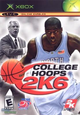 College Hoops 2K6 Cover Art