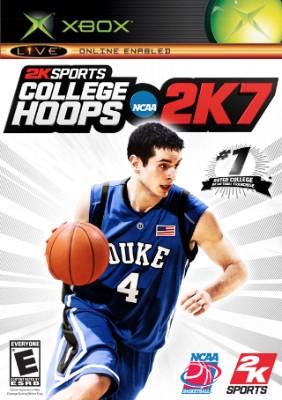 College Hoops 2K7 Cover Art