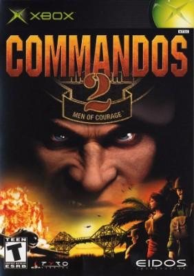Commandos 2: Men of Courage Cover Art