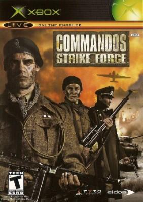 Commandos: Strike Force Cover Art