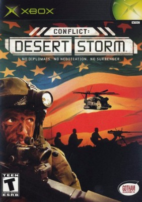 Conflict: Desert Storm Cover Art