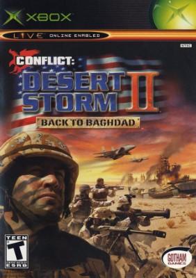 Conflict: Desert Storm II: Back to Baghdad Cover Art