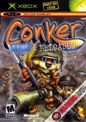 Conker: Live & Reloaded Cover Art