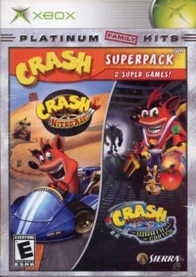 Crash Bandicoot: Super Pack Cover Art
