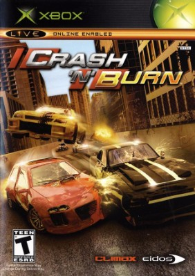 Crash N Burn Cover Art