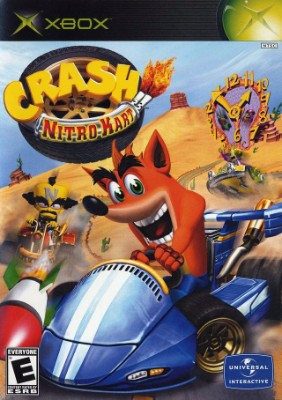 Crash: Nitro Kart Cover Art
