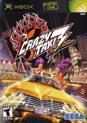 Crazy Taxi 3: High Rollover Cover Art
