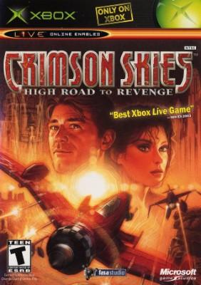 Crimson Skies: High Road to Revenge Cover Art