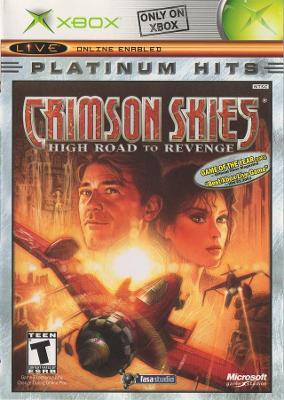 Crimson Skies: High Road to Revenge [Platinum Hits] Cover Art