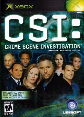 CSI: Crime Scene Investigation Cover Art