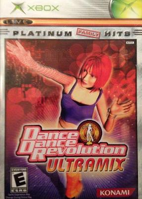 Dance Dance Revolution: Ultramix [Platinum Hits] Cover Art