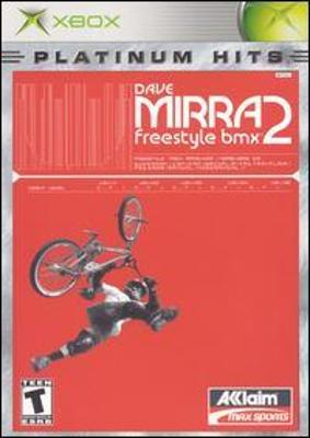 Dave Mirra Freestyle BMX 2 [Platinum Hits] Cover Art