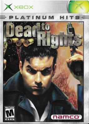 Dead to Rights [Platinum Hits] Cover Art