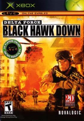 Delta Force: Black Hawk Down Cover Art