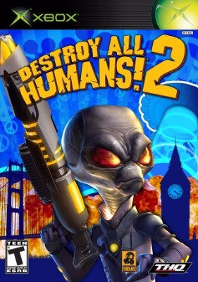 Destroy All Humans! 2 Cover Art