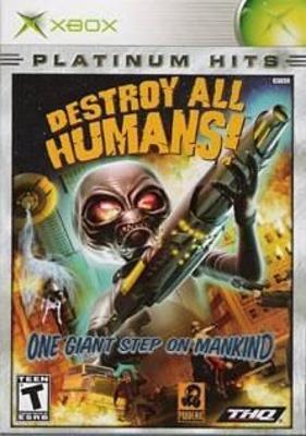 Destroy All Humans! [Platinum Hits] Cover Art