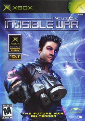 Deus Ex: Invisible War Cover Art