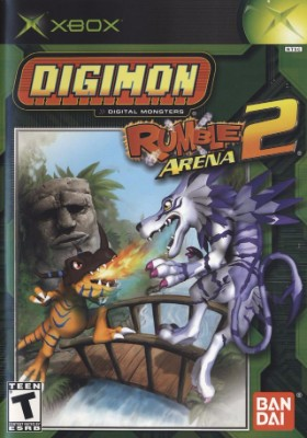 Digimon: Rumble Arena 2 Cover Art