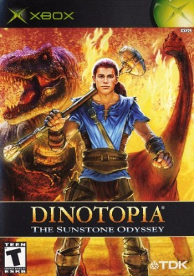 Dinotopia: The Sunstone Odyssey Cover Art