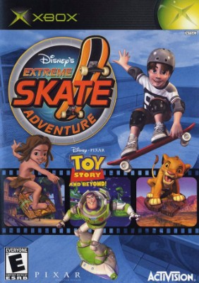 Disney's Extreme Skate Adventure Cover Art