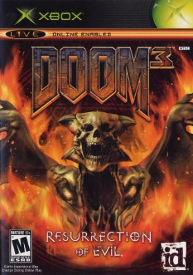 Doom 3: Resurrection of Evil Cover Art