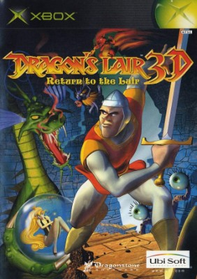 Dragon's Lair 3D: Return to the Lair Cover Art