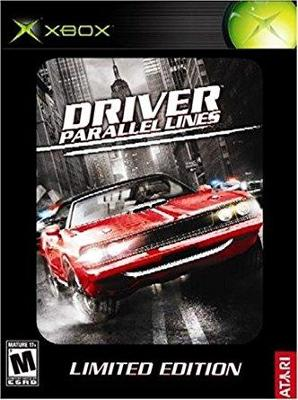 Driver: Parallel Lines [Limited Edition] Cover Art