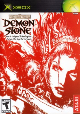 Demon Stone Cover Art