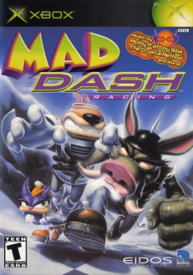 Mad Dash Racing Cover Art