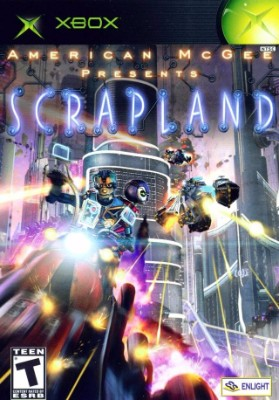 American McGee Presents Scrapland Cover Art