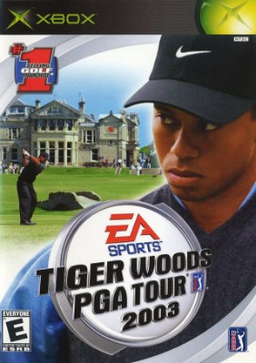 Tiger Woods PGA Tour 2003 Cover Art