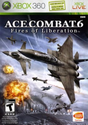 Ace Combat 6: Fires of Liberation Cover Art