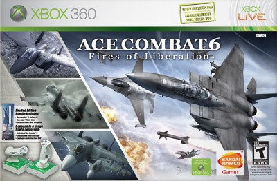 Ace Combat 6: Fires of Liberation [Flightstick Bundle] Cover Art