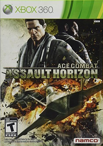 Ace Combat: Assault Horizon Cover Art