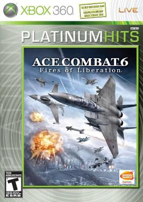 Ace Combat 6: Fires of Liberation [Platinum Hits] Cover Art