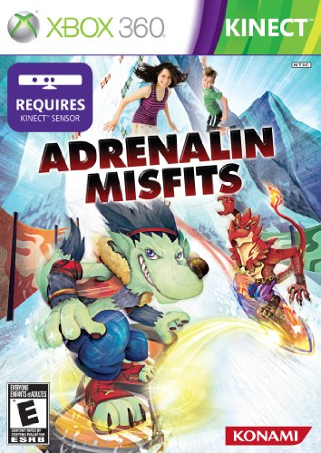 Adrenalin Misfits Cover Art