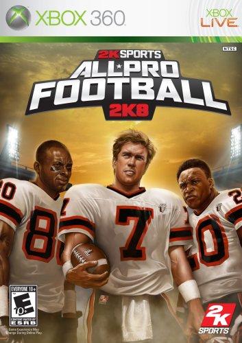 All Pro Football 2K8 Cover Art