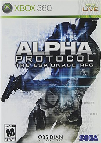 Alpha Protocol Cover Art
